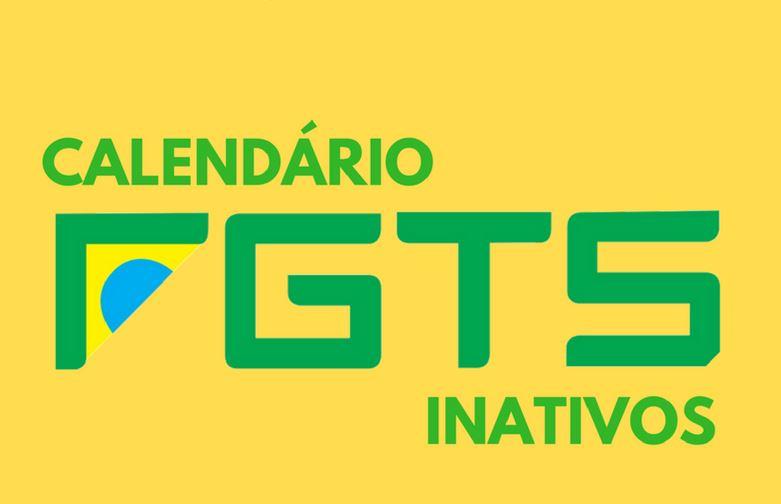 Calendário FGTS 2020 - Saque FGTS Inativo
