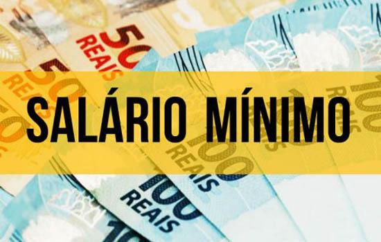 Salário Mínimo Regional 2020