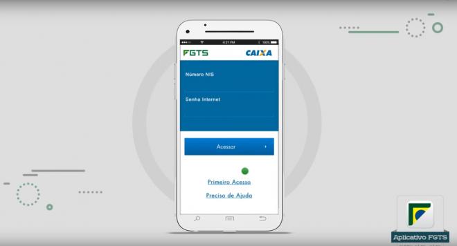 Aplicativo FGTS